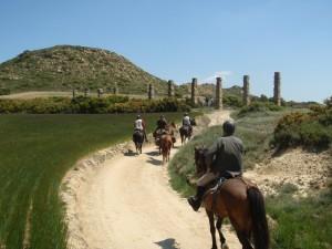 Aqueduc de la ciudad Romana de los Banales (Sadaba)