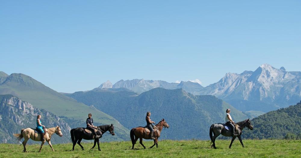 Plateau du Benou Vallée d'Ossau