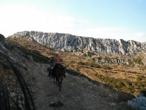 vers le col des Aragones