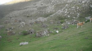 cabanes en toît de pierre / Asturies